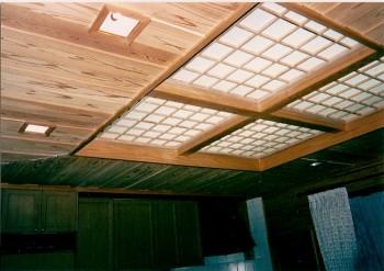 天井 杉板 (2)