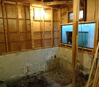浴室 解体