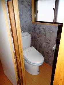 2階 トイレ施工後