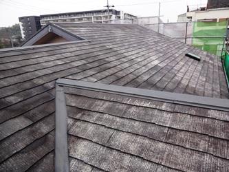 屋根 水洗い