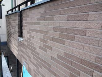 施工前 ベランダ外壁