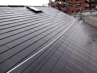 屋根 塗り替え後
