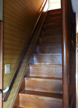 階段 手摺り取り付け
