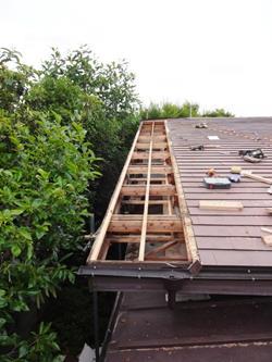 屋根 下地補強