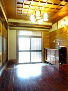 玄関 京壁リフォーム後