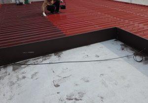 屋根 サビ止め塗装