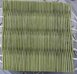 和紙製畳カビ抵抗性試験