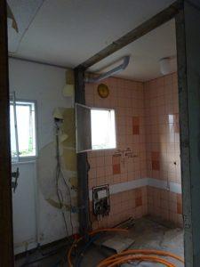 洗面台・浴室 工事前